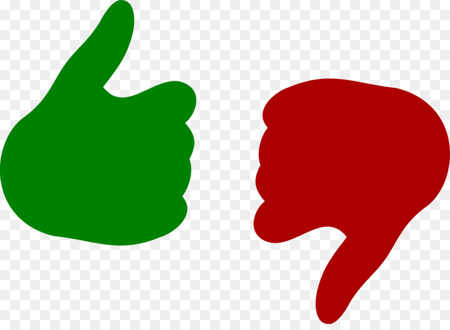 thumb signal like button icon thumbs down cliparts png download