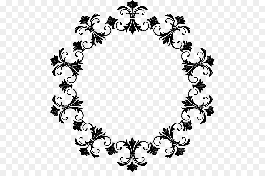 Graphic Frames Picture frame Clip art - Round Vintage Vector Png png ...