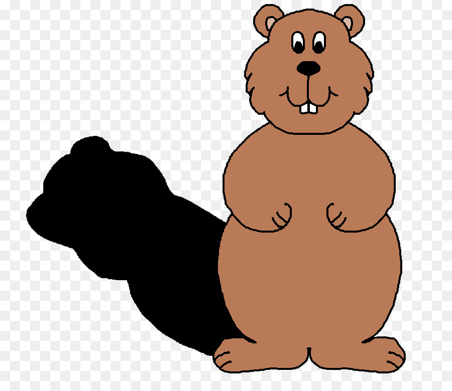 the groundhog groundhog day clip art bear shadow cliparts png rh kisspng com groundhog day clip art pictures groundhog day clip art free