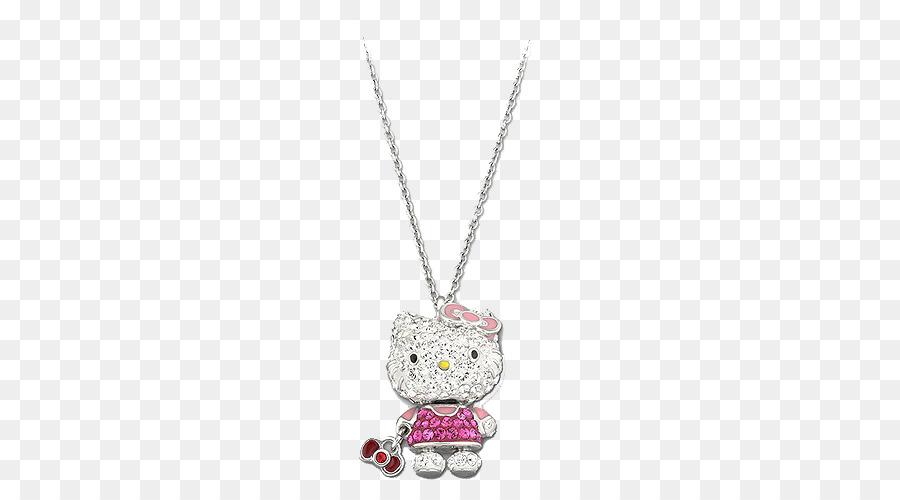 Locket hello kitty necklace pendant chain swarovski jewelry cat locket hello kitty necklace pendant chain swarovski jewelry cat necklace women kiti aloadofball Gallery