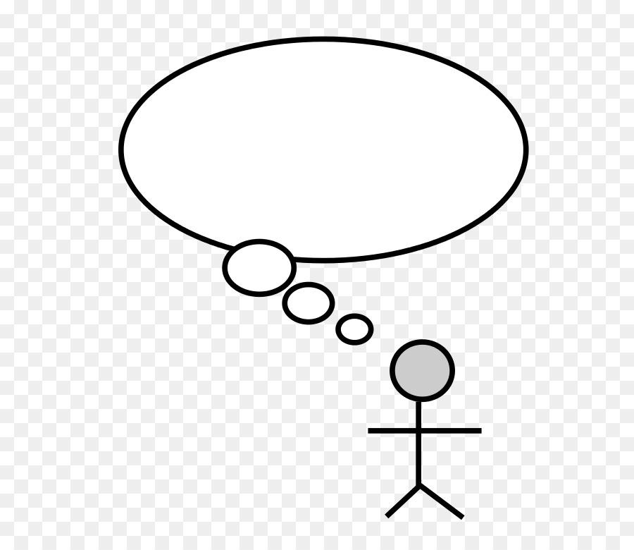 Person Speech Balloon Thought Clip Art