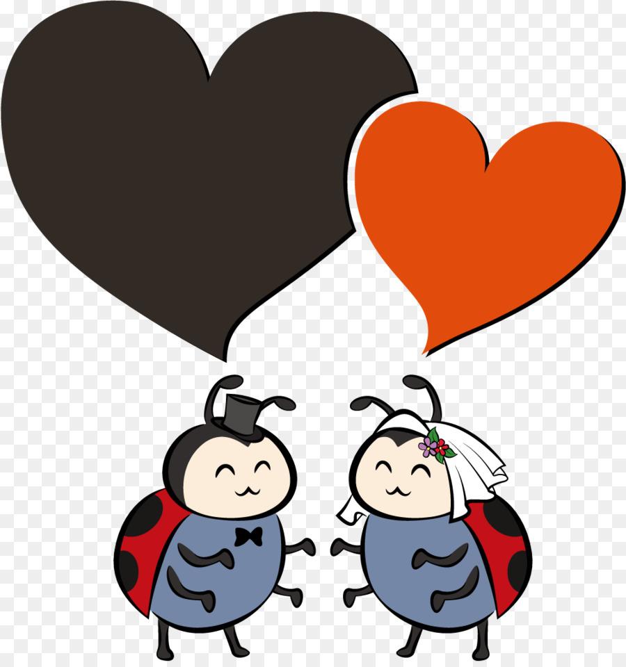 Wedding marriage clip art ladybug wedding greeting card vector wedding marriage clip art ladybug wedding greeting card vector elements stopboris Image collections