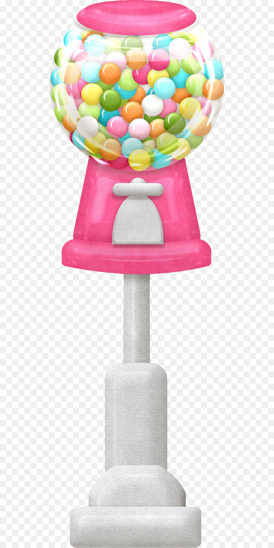Chewing gum Gumball machine Candy Bubble gum Clip art - Jar of candy ...