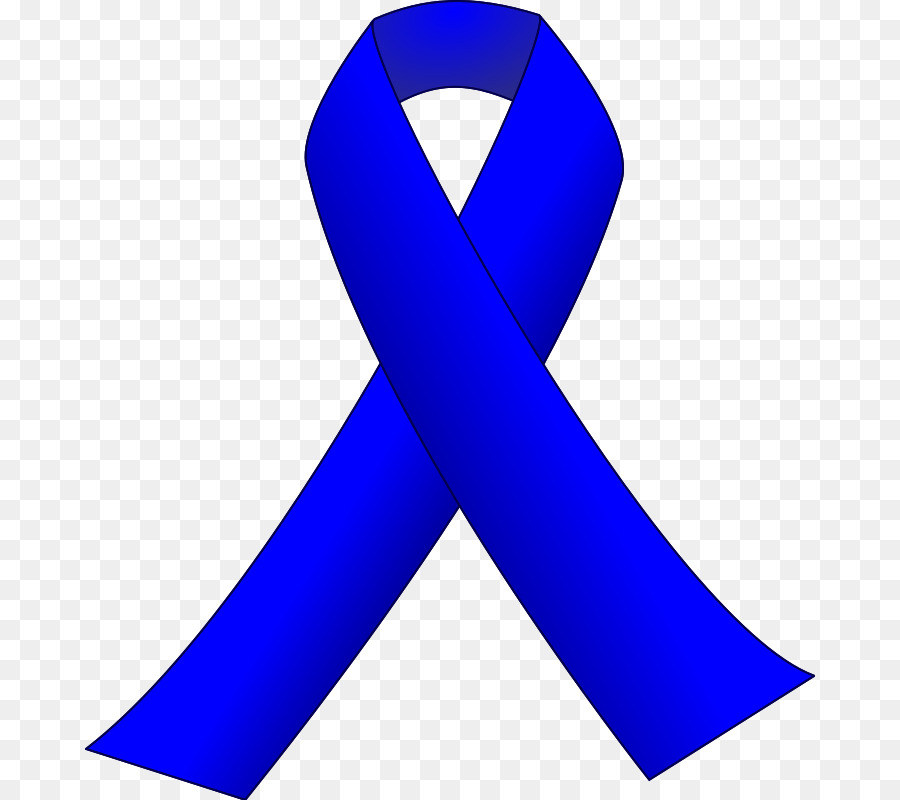 Black Ribbon Awareness Clip Art Blue Clipart