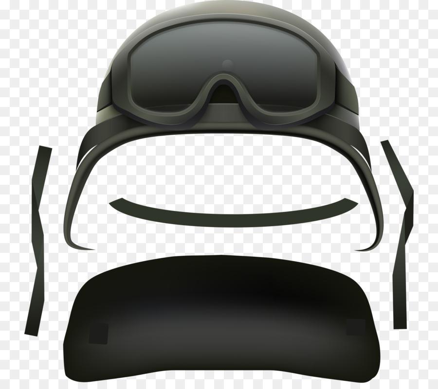 Gafas de Combate casco - Gris Casco Formatos De Archivo De Imagen ...