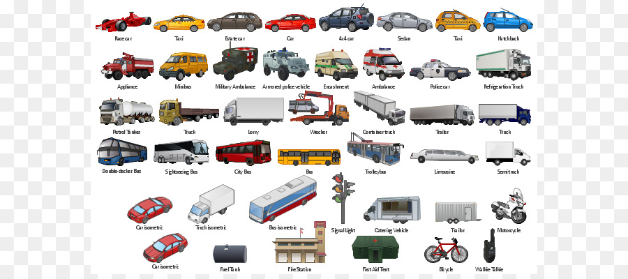 Car Clip Art: Transportation Vehicle Road Transport