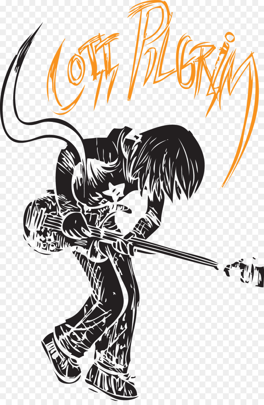 Ramona Flowers Comics Scott Pilgrim Play Rock Vector Png Download