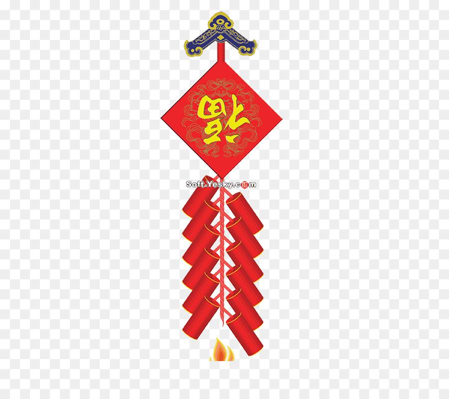 Tangyuan Firecracker chinesische Neue Jahr mit der Traditionellen ...