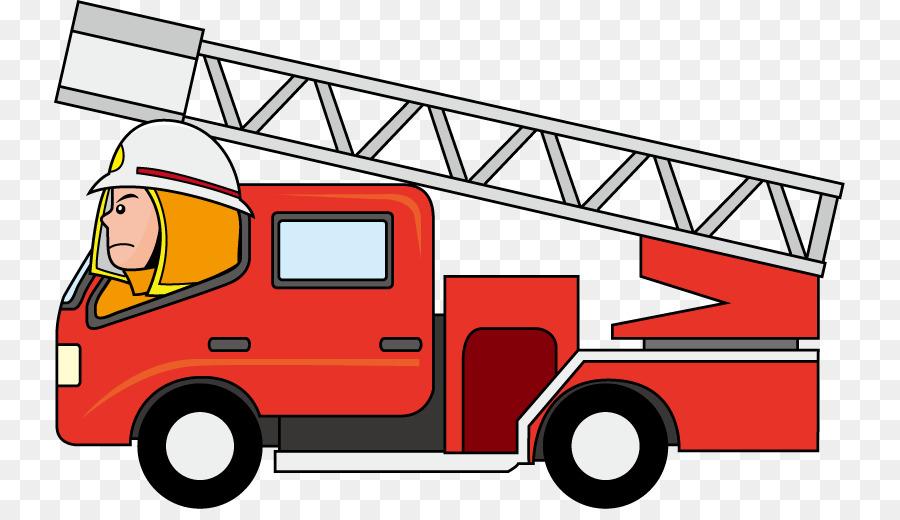 car fire engine truck firefighter clip art cartoon firetrucks rh kisspng com fire truck clip art free download fire truck clip art to color