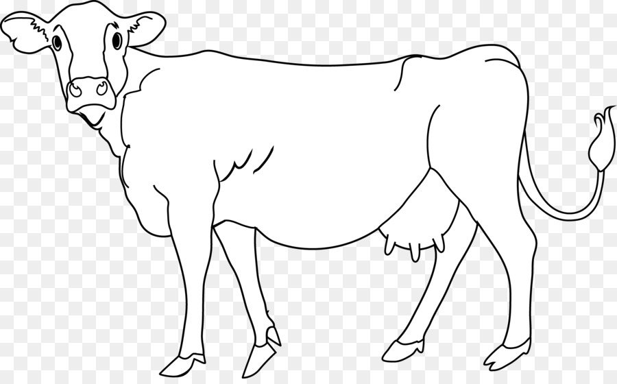 Attractive Holstein Friesian Cattle Beef Cattle Calf Clip Art   Black Cow Cliparts