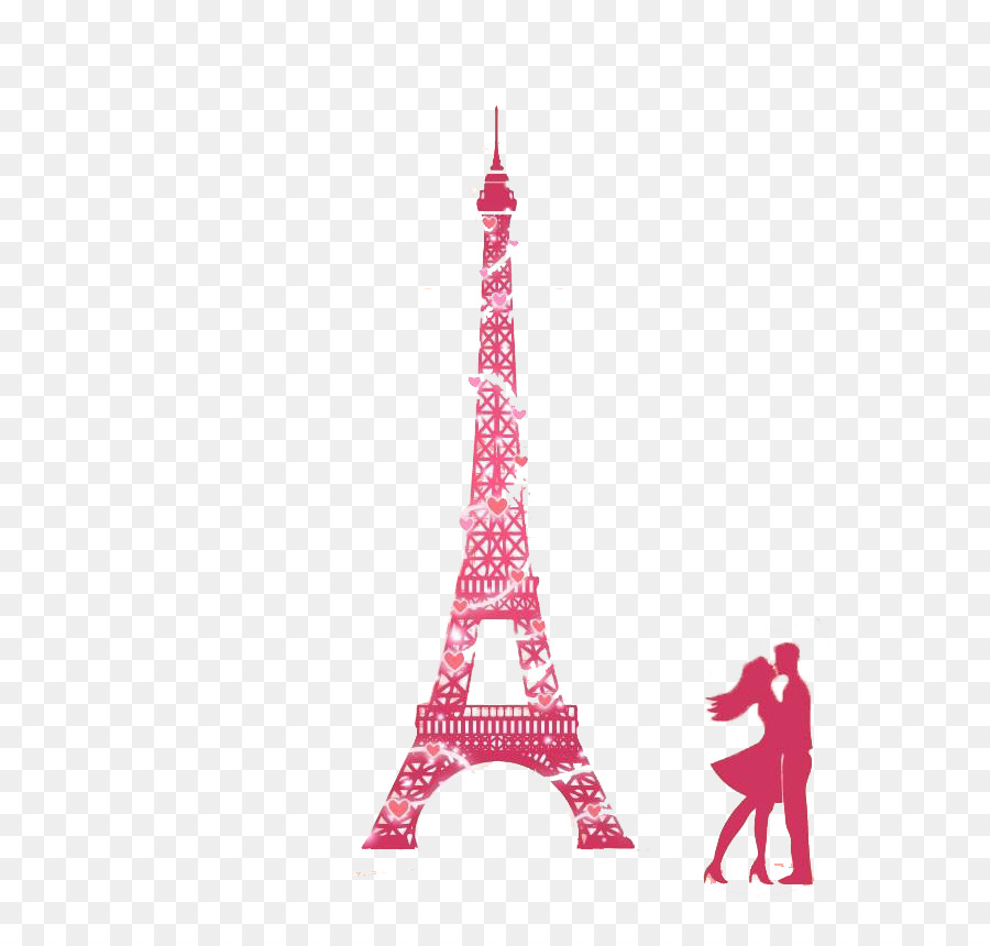 Eiffel Tower Pink Wall Decal Wallpaper Paris Valentine S Day