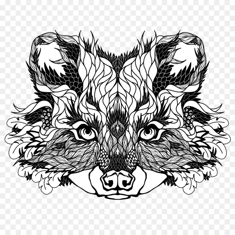 rocket raccoon tattoo artist new school cartoon fox png download