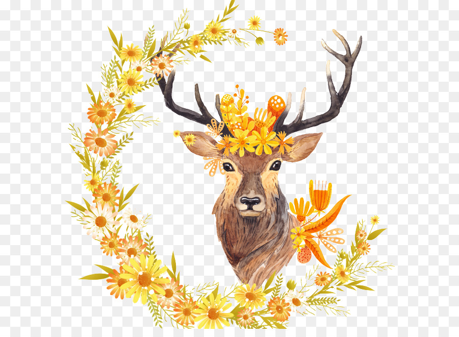 Hoja de otoño de color de caída Libre de la pintura a la Acuarela de ...
