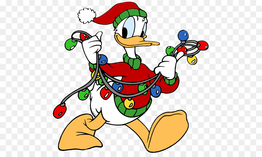 donald duck daisy duck minnie mouse mickey mouse pluto duck christmas cliparts - Donald Duck Christmas