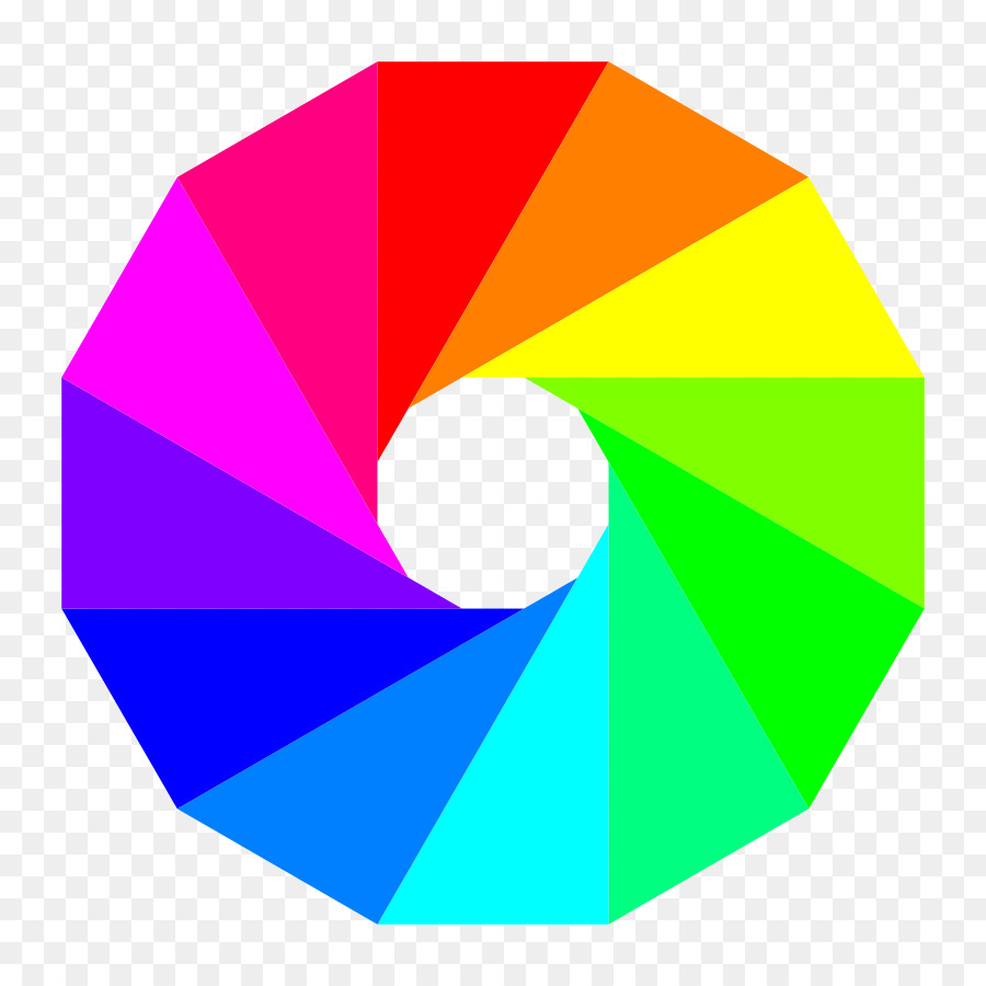 color wheel complementary colors clip art triangle design cliparts