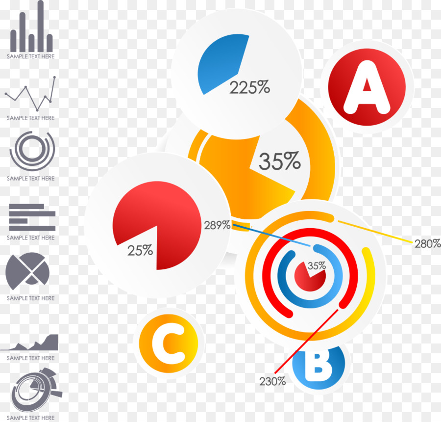 Circle Logo Chart Creativity Scale Drawing Vector Creative Label