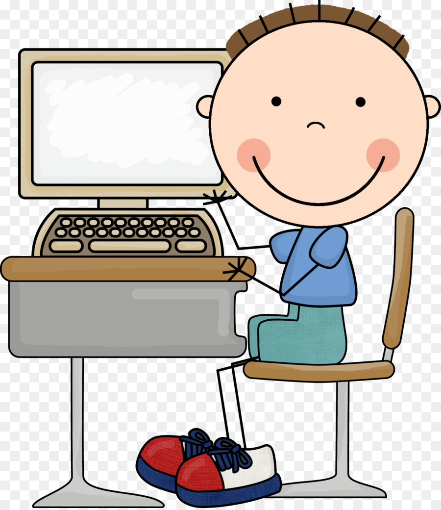 Image result for computer kid clipart