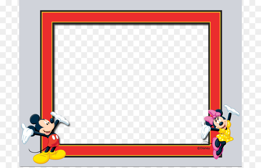 Picture frame The Walt Disney Company Template - Disney cute frame ...