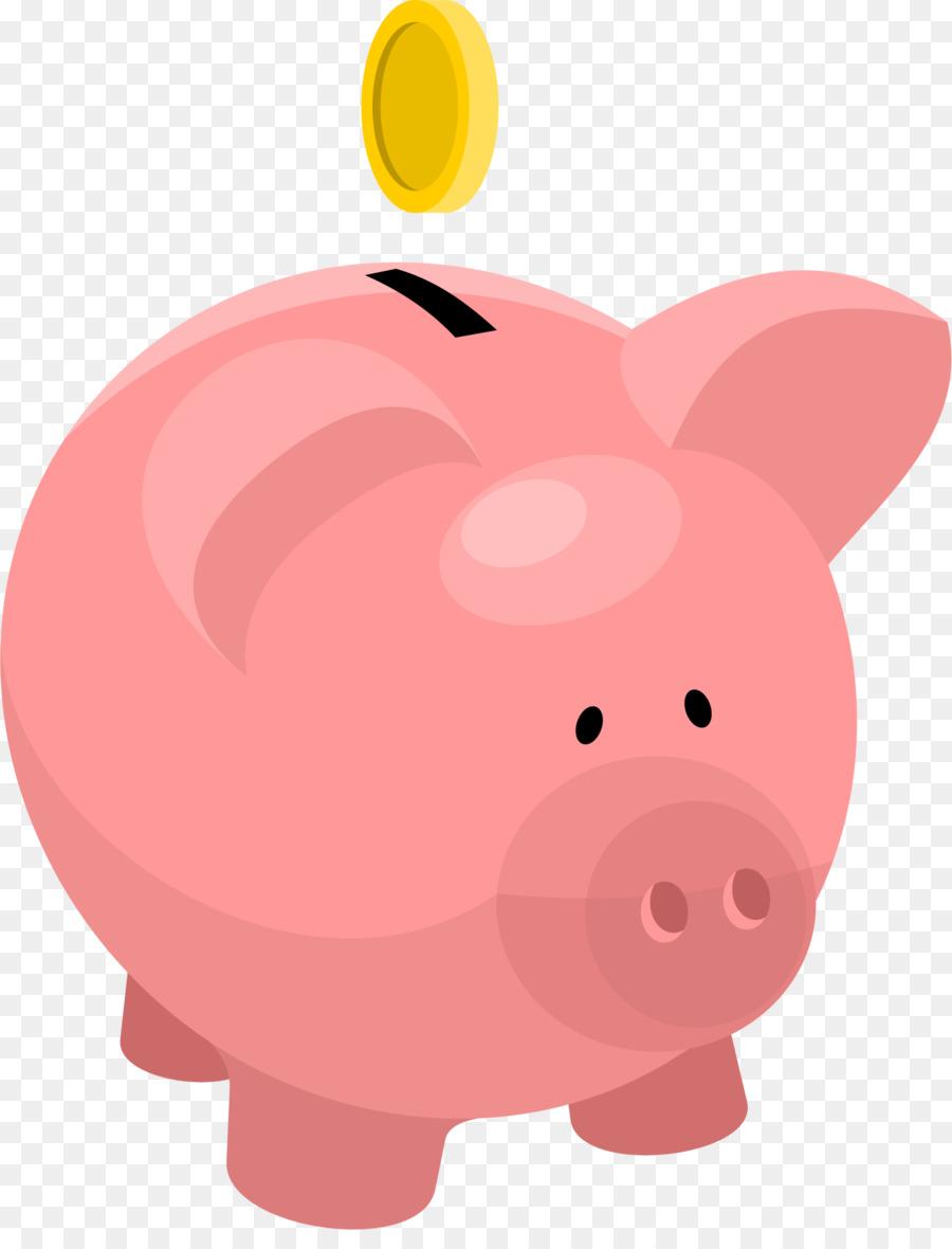 Piggy Bank Clip Art - Vector Piggy Bank 1375*1776 ...