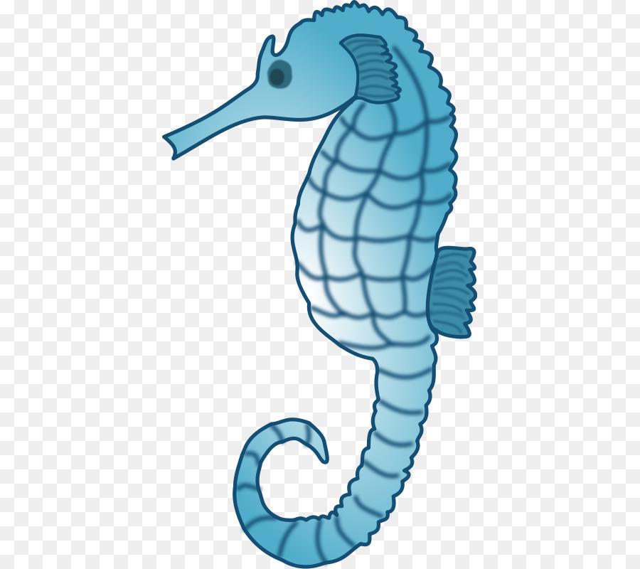 Seahorse Aquatic animal Deep sea creature Clip art - Sea ...