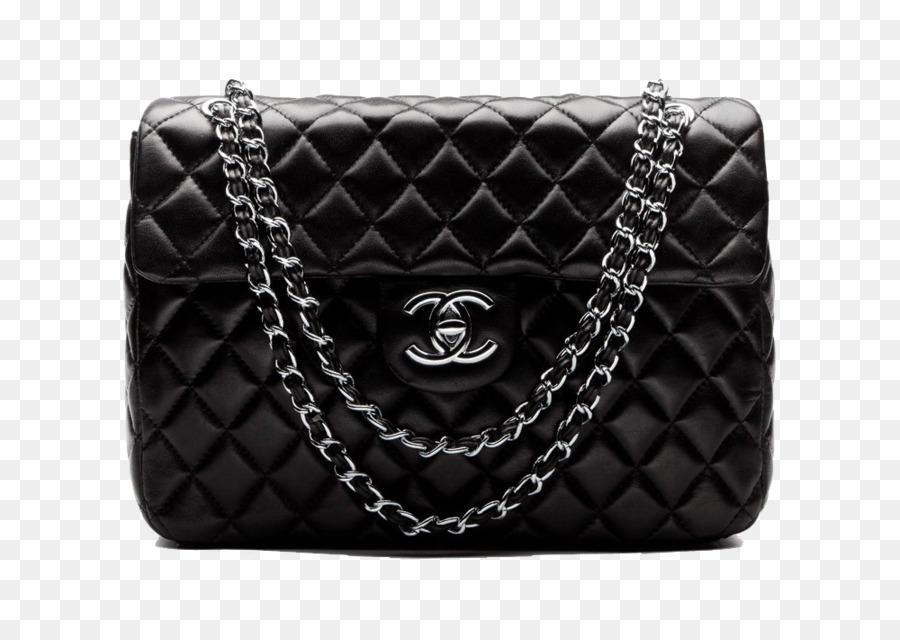 Chanel Handbag Perfume Black Chanel Bag Png Download
