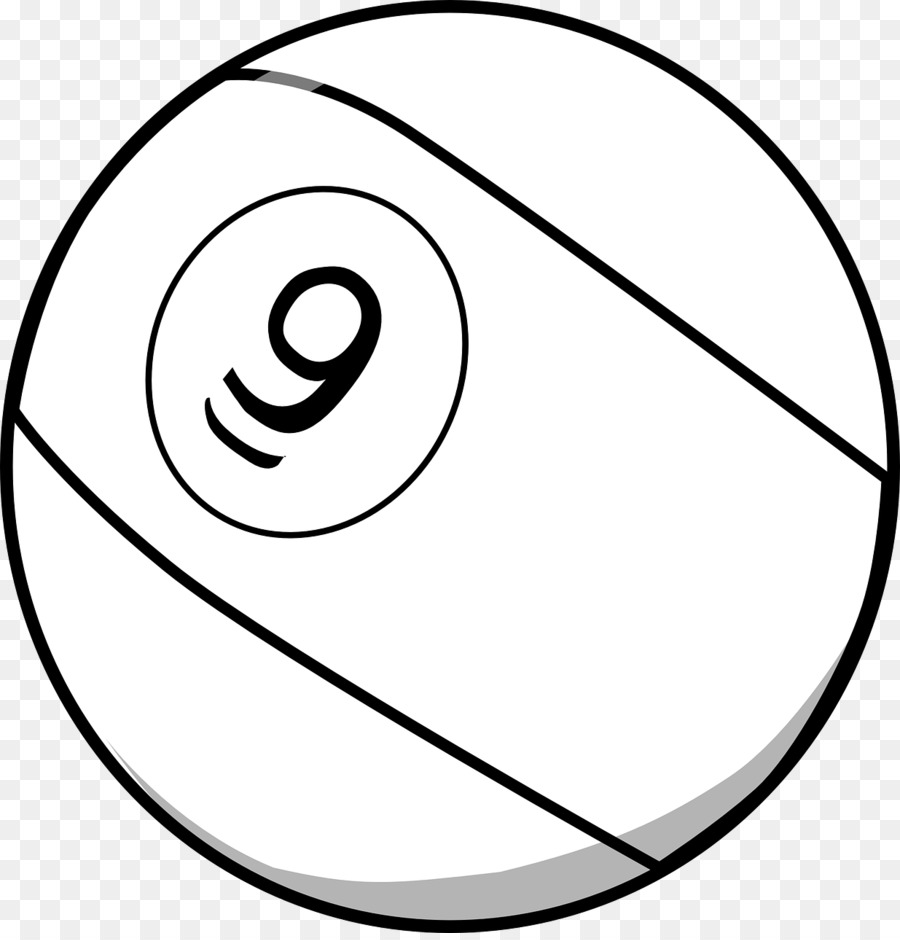 Nine Ball Pool Billiard Billiards Clip Art