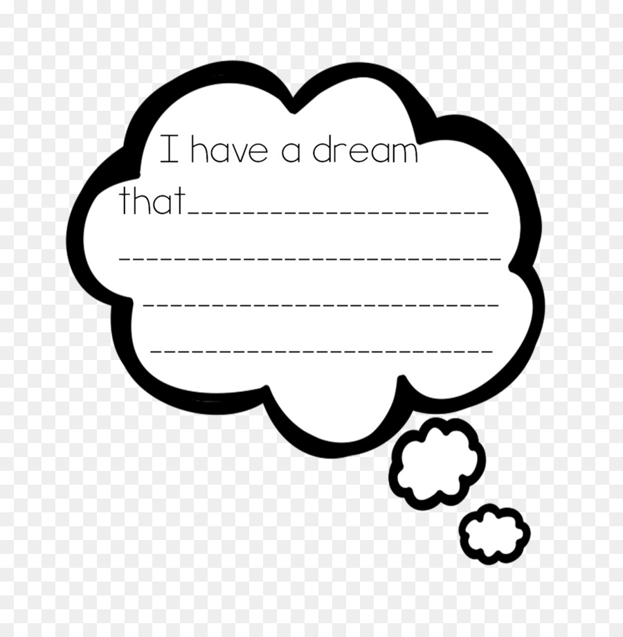 I Have A Dream Clip Art