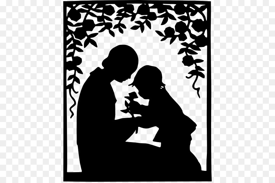 mother child silhouette clip art mom drawing cliparts png download