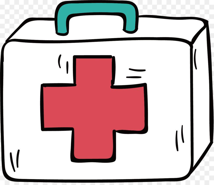 medicine first aid kit clip art vector hand painted first aid kit rh kisspng com first aid clip art free first aid clipart black and white