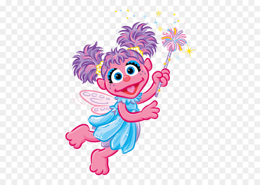 Abby Cadabby Elmo Zoe Count von Count Ernie - Abby Cliparts png ...