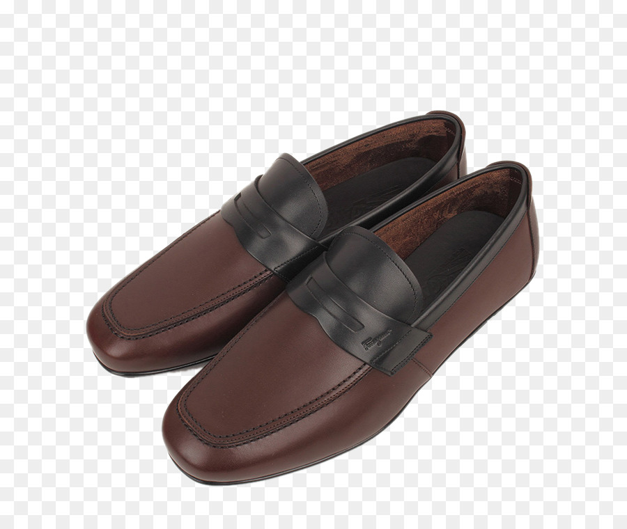 Slip-on Couro de sapato Salvatore Ferragamo S. p.Um. Designer - Ferragamo,  masculina casual sapatos 3073 cor colagem 55800e0908