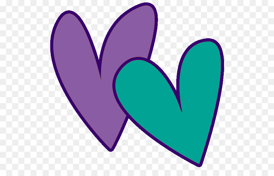 Heart Valentines Day Clip Art Teal Heart Cliparts Png Download