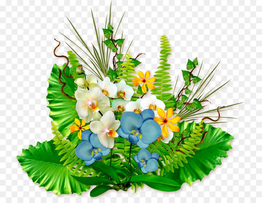 Floral design Orchids Flower Plant - Orchid bouquet png download ...