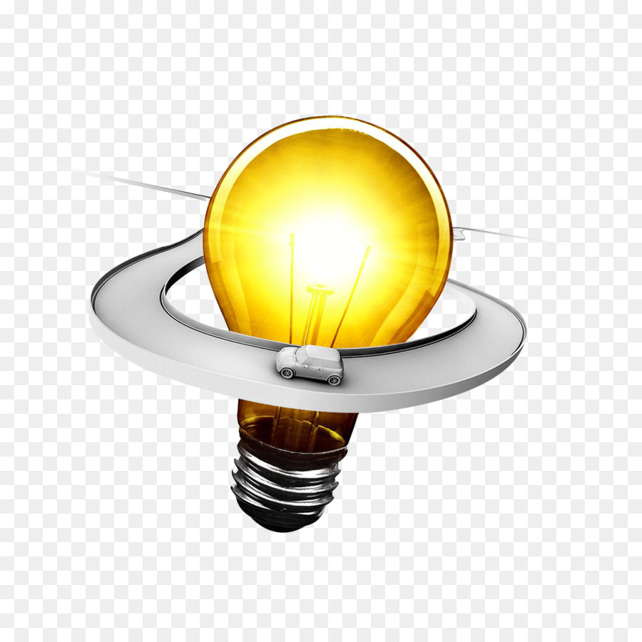 Incandescent Light Bulb Icon   Bulb Design