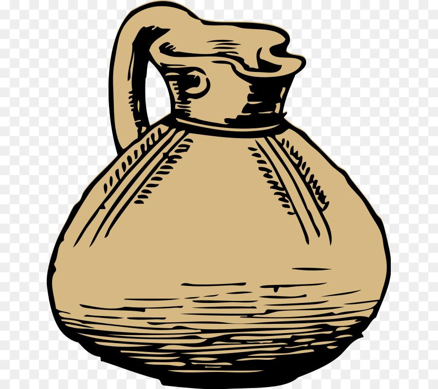 Pitcher Jug Clip Art Greek Vase Template Png Download 707800