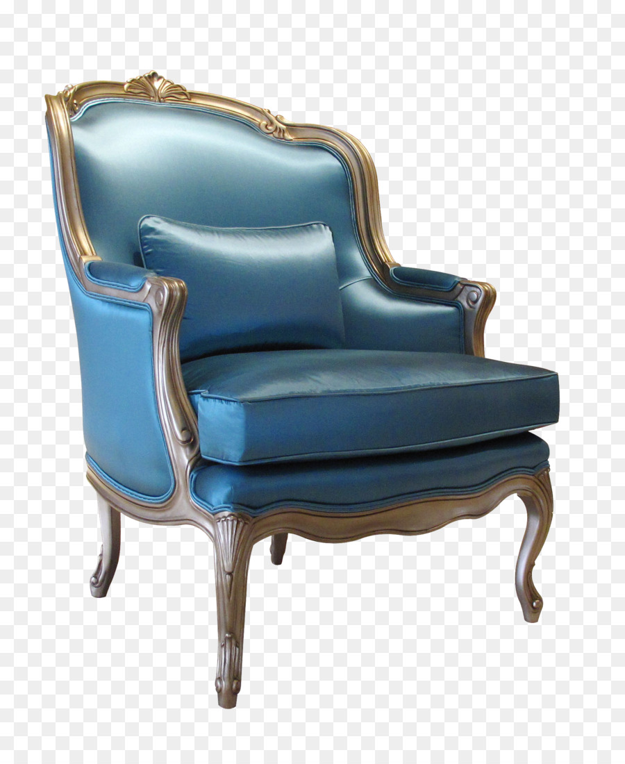 Chair Seat Couch   Dark Blue Seats