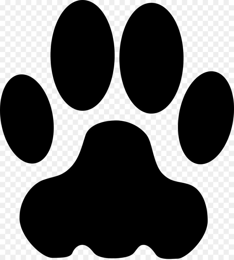 bulldog paw giant panda coyote clip art footstep clipart png rh kisspng com paw clipart black and white paw clipart black and white