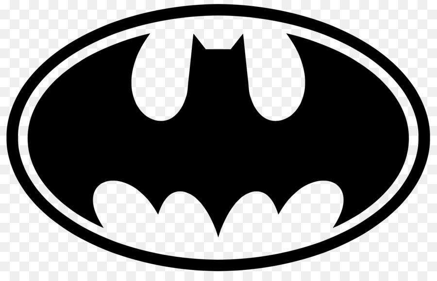 Batman Black And White Logo Clip Art