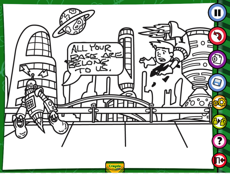 Buku Mewarnai Gambar Anak Clip Art Ipad Coloring Pages Unduh