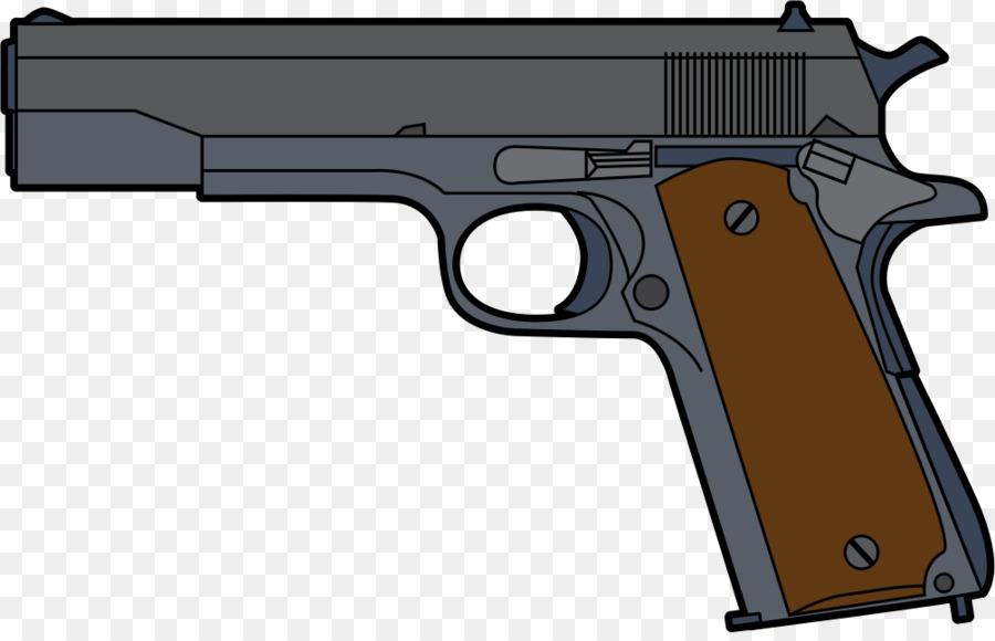 Pistol Firearm Clip Handgun Clip Art