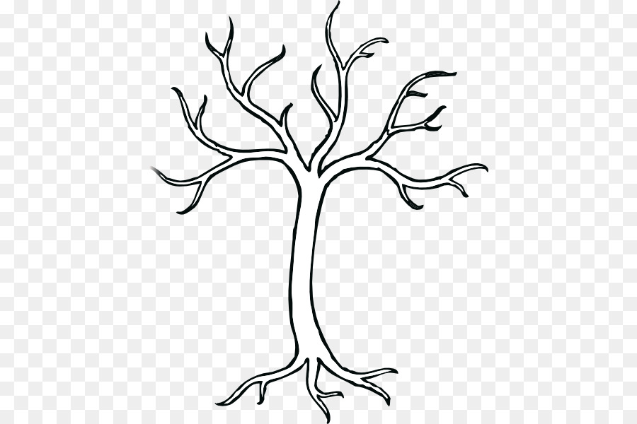 Tree Trunk Drawing Clip Art