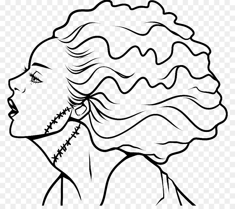 Frankensteins monstruo Dibujo para Colorear libro Clip art ...