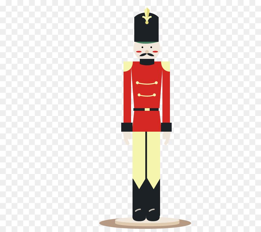 Cascanueces soldado de Juguete - Europea soldado rojo villano ...