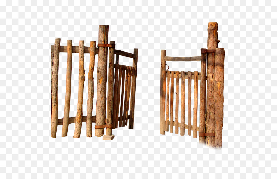 Wood Fence Drawing In Fence Gate Wall Wood Fence Gate Png Download 567567 Free