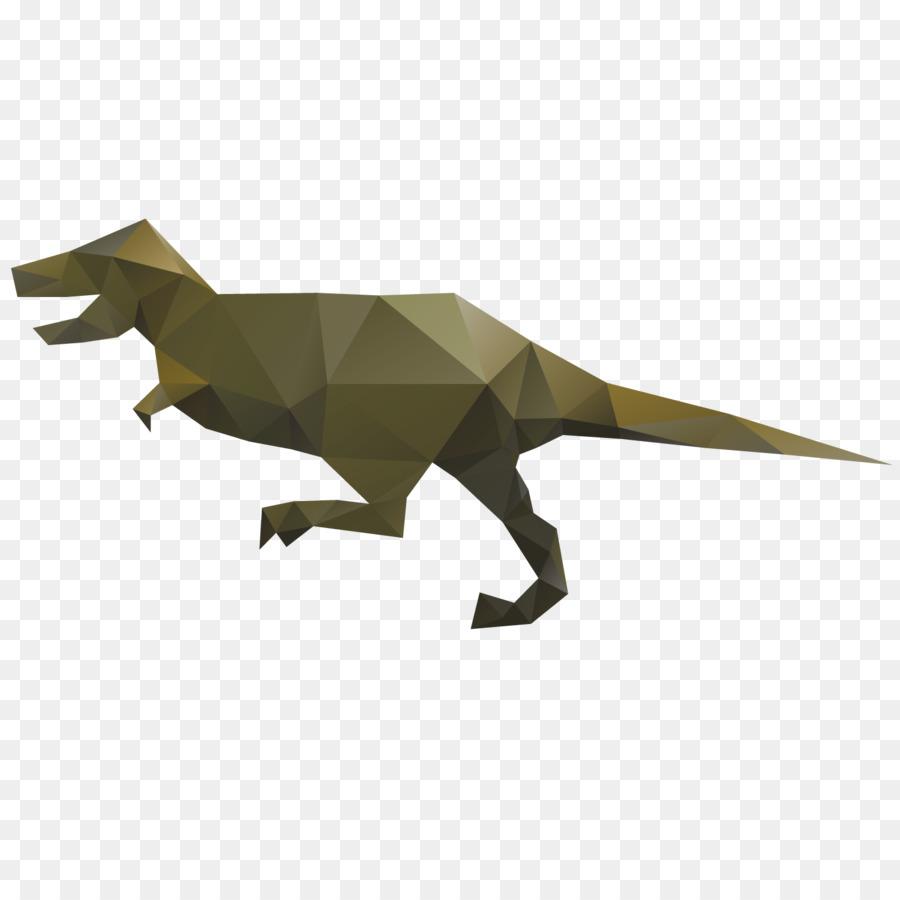 Tyrannosaurus Spinosaurus Origami Dinosaurs