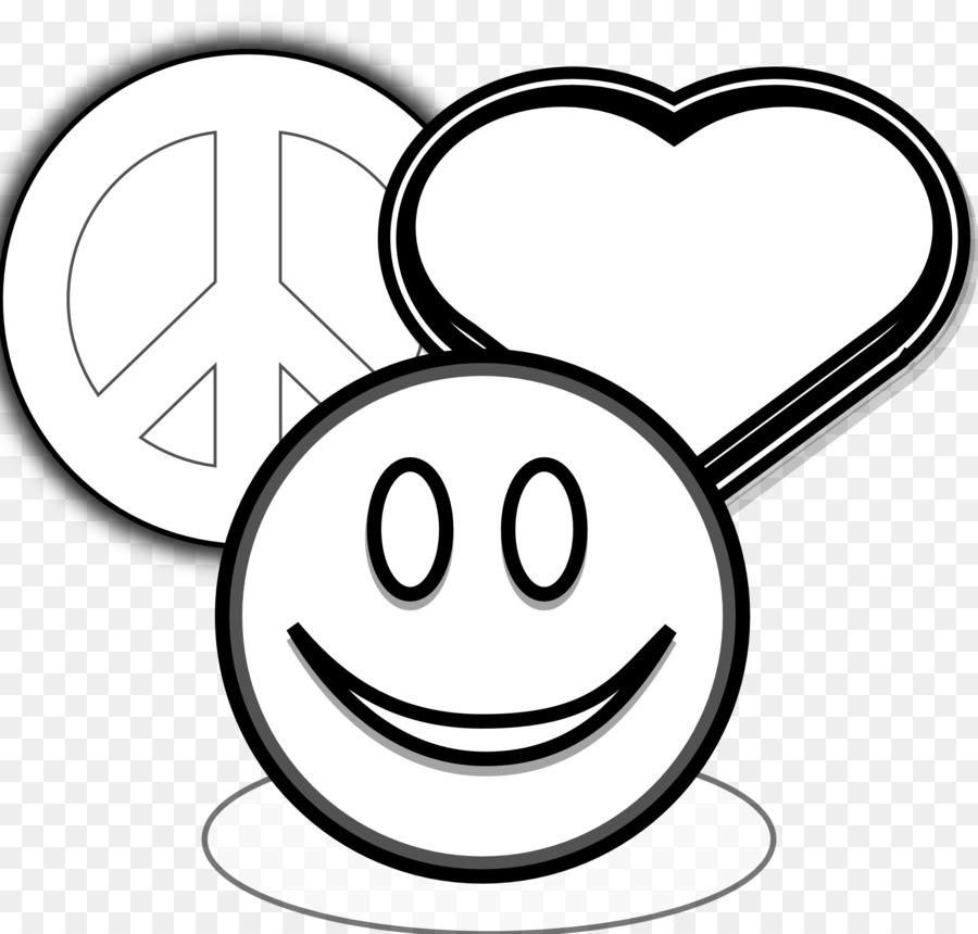Libro para colorear de la Paz símbolos Niño - Imprimible Signos De ...
