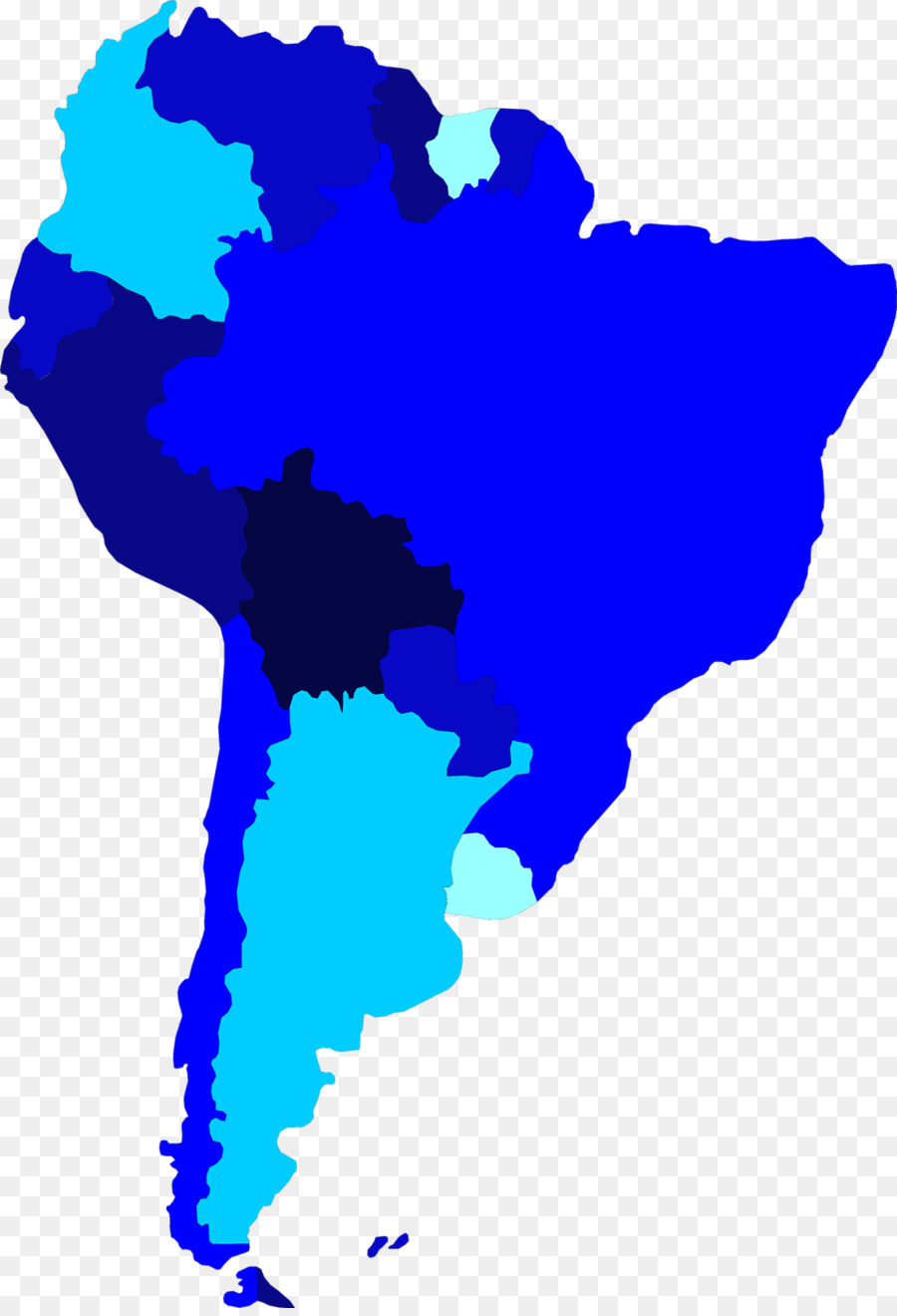 United States South America Latin America Map Clip Art South