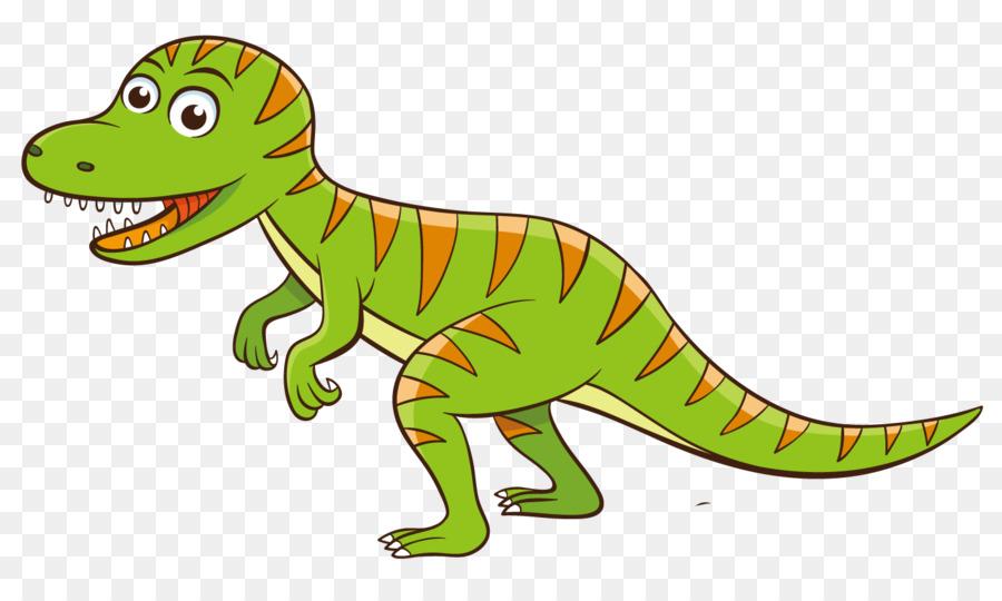 Tyrannosaurus Dibujos Animados De Dinosaurios De La