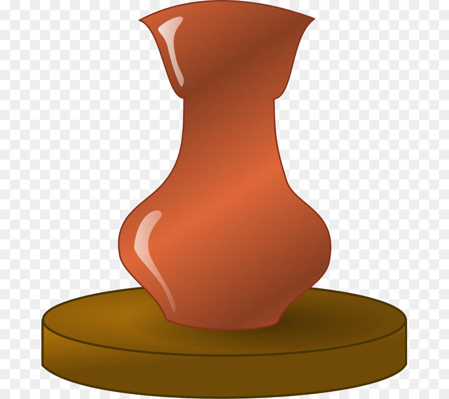 Pottery Potters Wheel Ceramic Glaze Clip Art Greek Vase Template