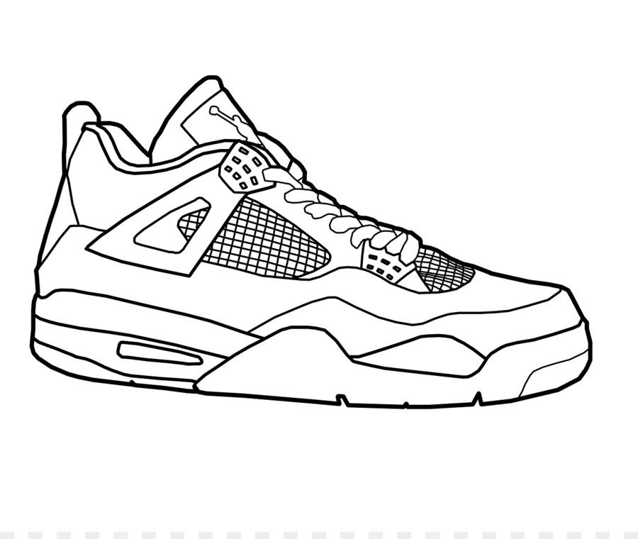 Air Force Jumpman Nike Free Coloring Book Jordan